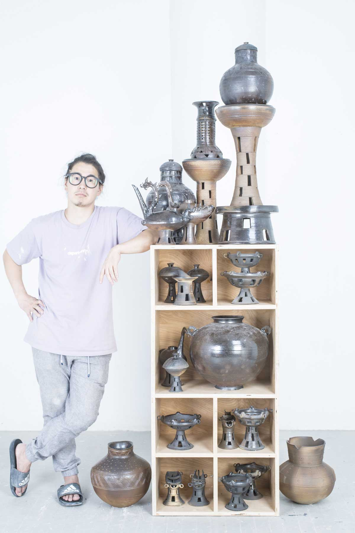 Dave Kim The Potter Moon Jar Workshop, Westchester New York, Yonkers Pottery Studio - Ceramics