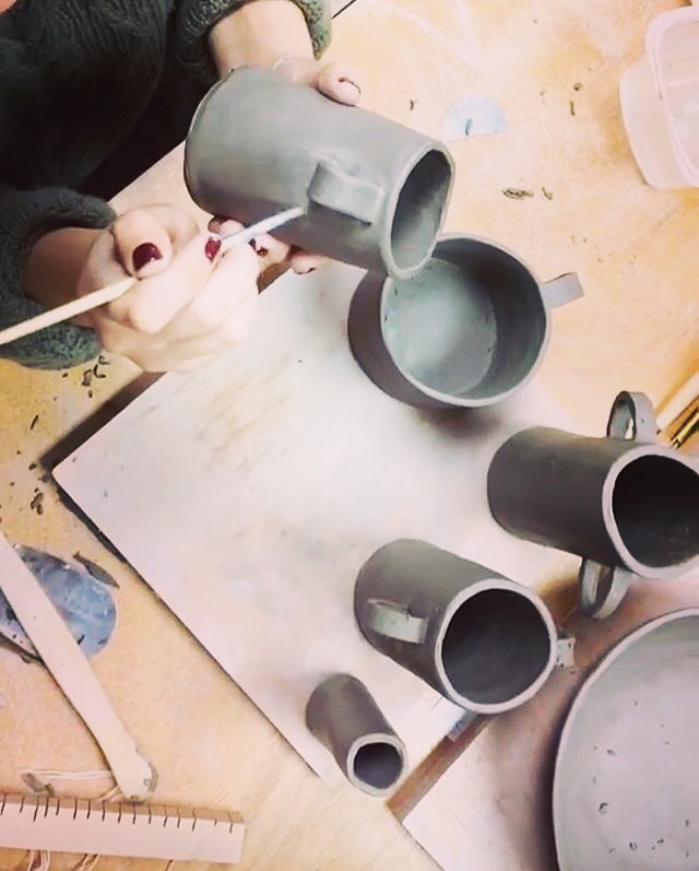 Pottery Classes Wheel Throwing Handbuilding Ceramics Instruction
